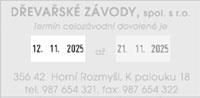 otisk - 76x37 mm